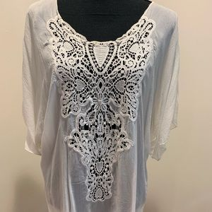 White Tunic Top from Johnny Was